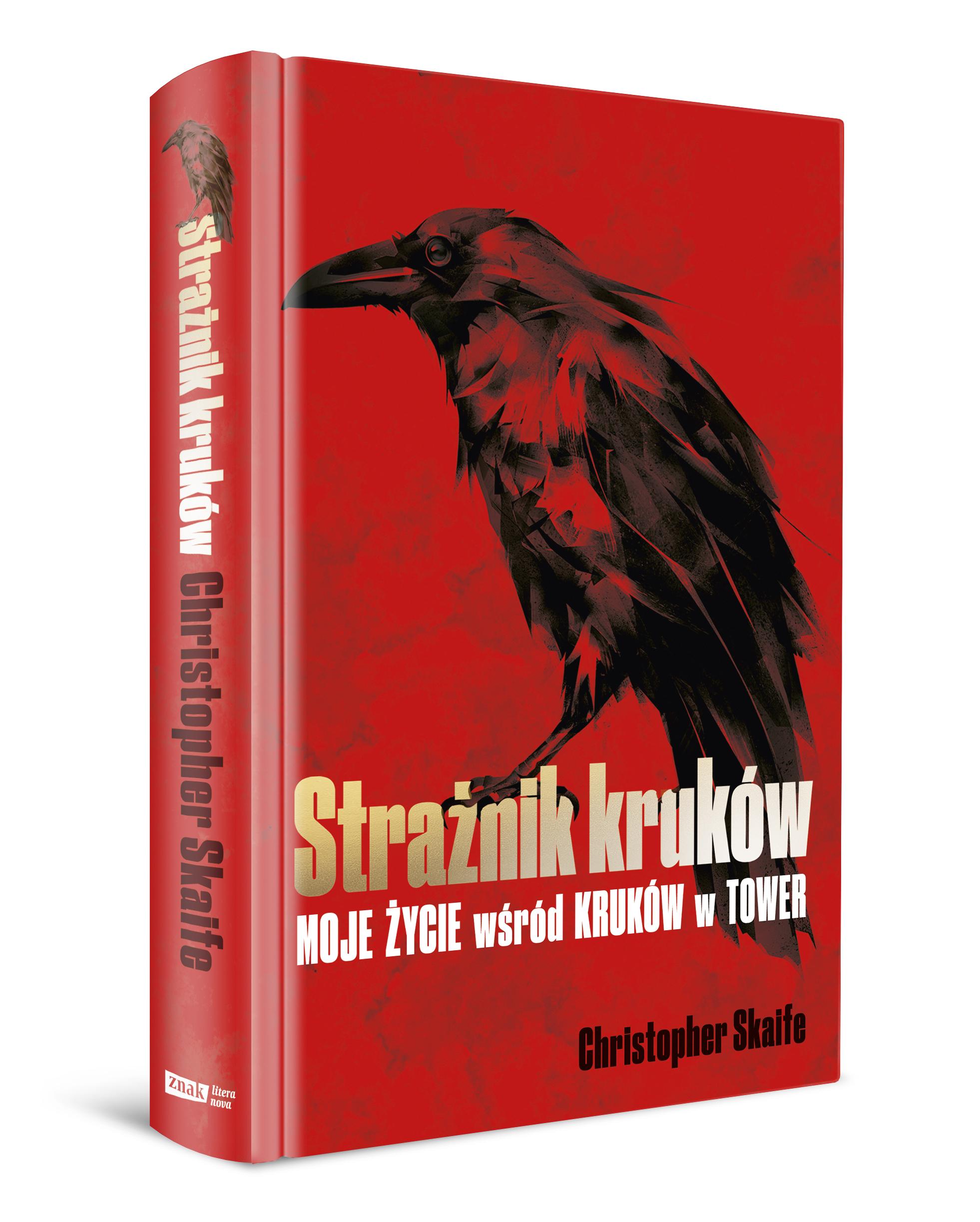 Strażnik kruków, książka o krukach, Christopher Skaife, ciekawostki o krukach, trójoka wrona gra o tron, czy kruki się bawią, recenzja, czy kruki są inteligentne, blog o dzikich zwierzętach i przyrodzie, animalistka, animalistka.pl